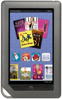 the nook certainly dominated the ebook news yesterday