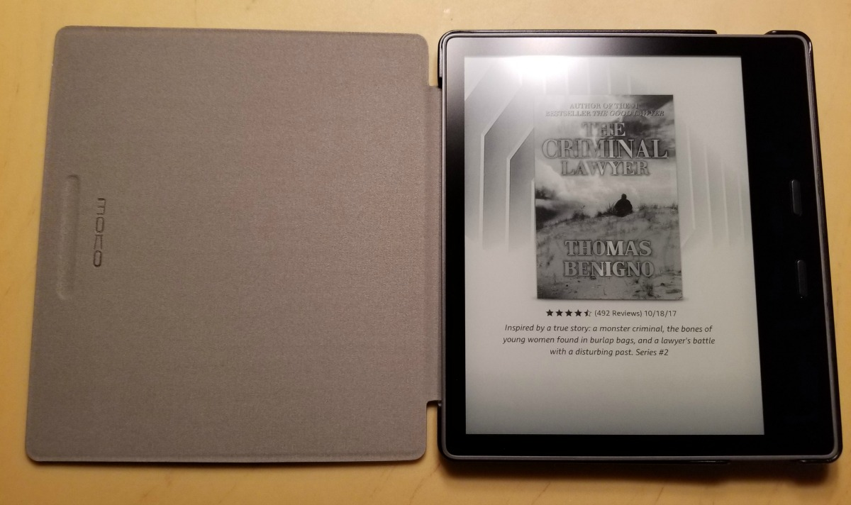 Review: The Moko case for the 2017 Kindle Oasis | The eBook Evangelist